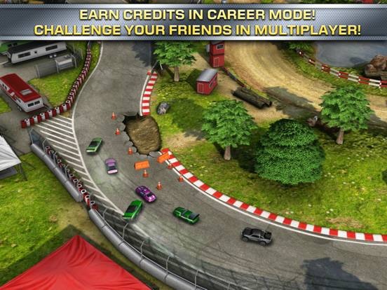 Reckless Racing 2 на iPad