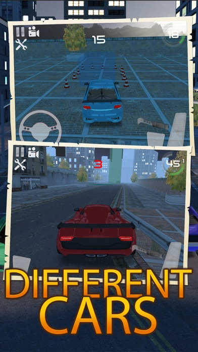 Night Traffic Car Driving Parking Career Simulator screenshot four