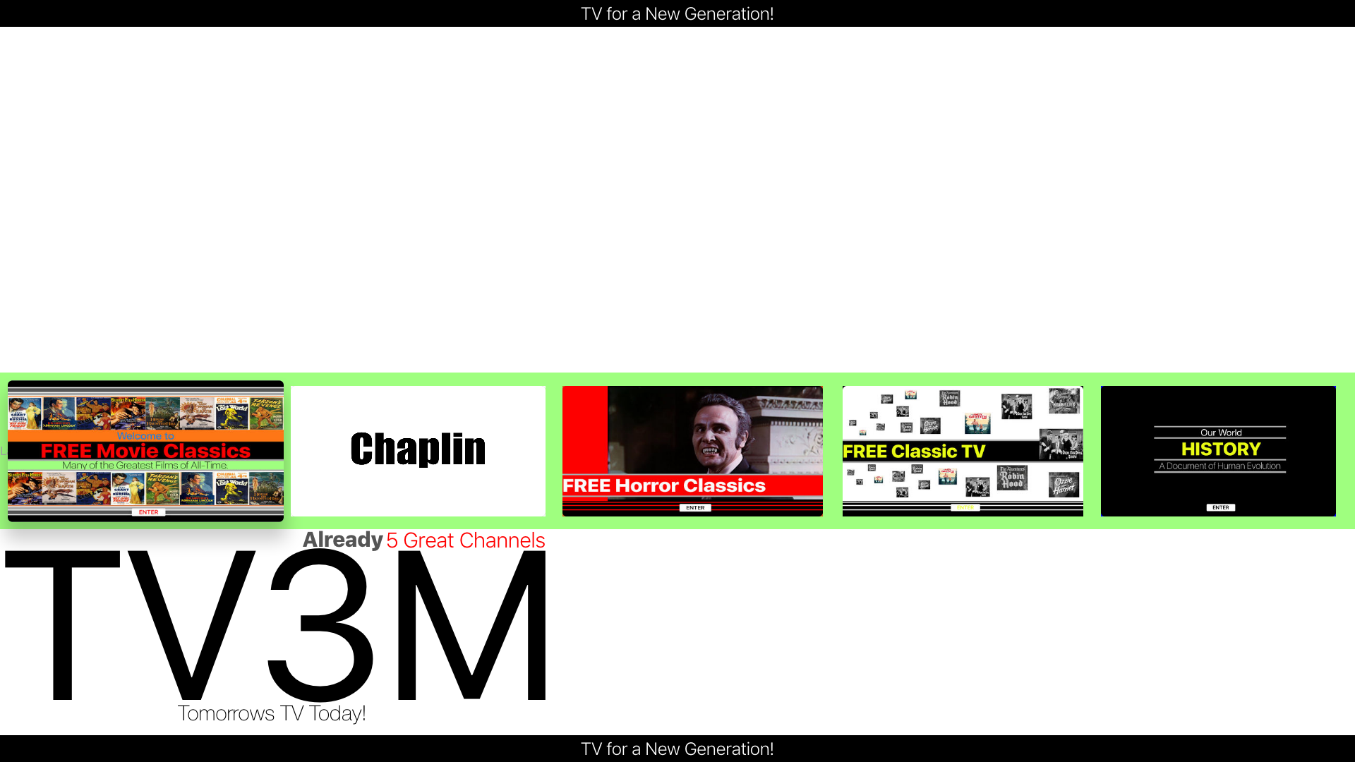 TV3M (Video Channels) screenshot 1