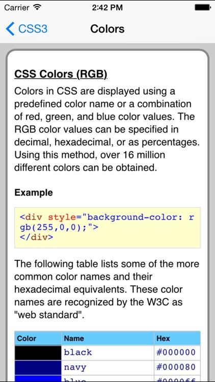CSS3 Pro FREE screenshot-3