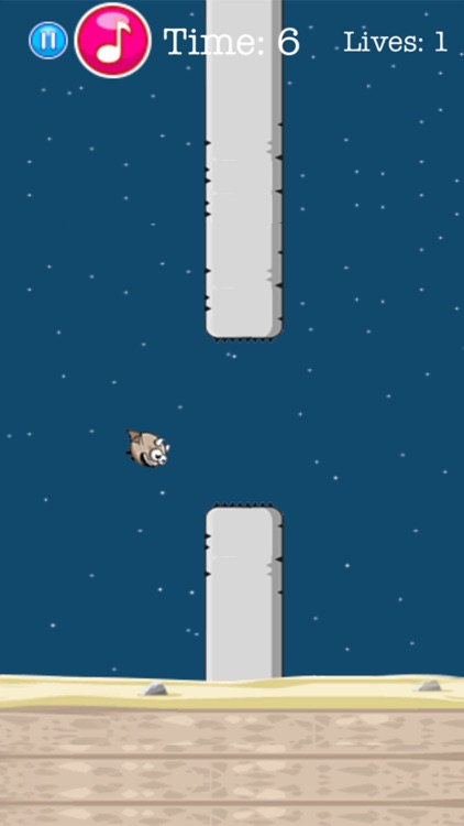 Tiny Bat - Do not Fly this Animal into a Pipe screenshot-3