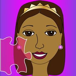 A Pretty Brown Princess Puzzle Game