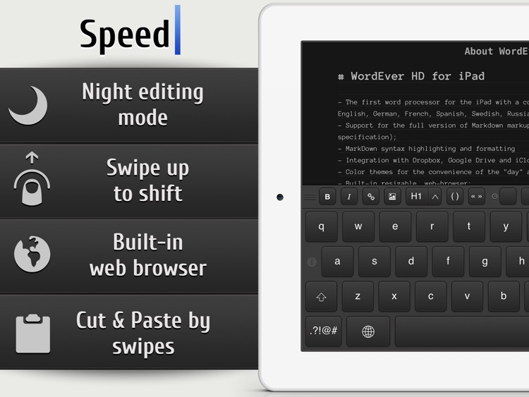 WordEver - MarkDown Text Editor screenshot-1