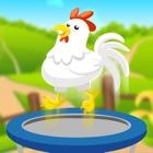 Chicken Farm Jump: Worm Warrior Heroes icon