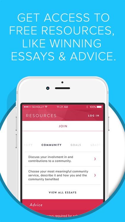 Scholly app image