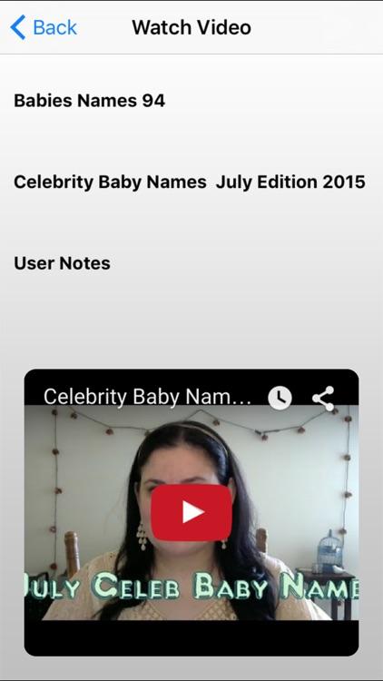 Babies Names screenshot-4