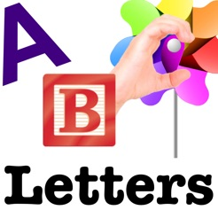 Autism/DTT Letters by drBrownsApps.com - Includes American Sign Language - Autism Related Apps