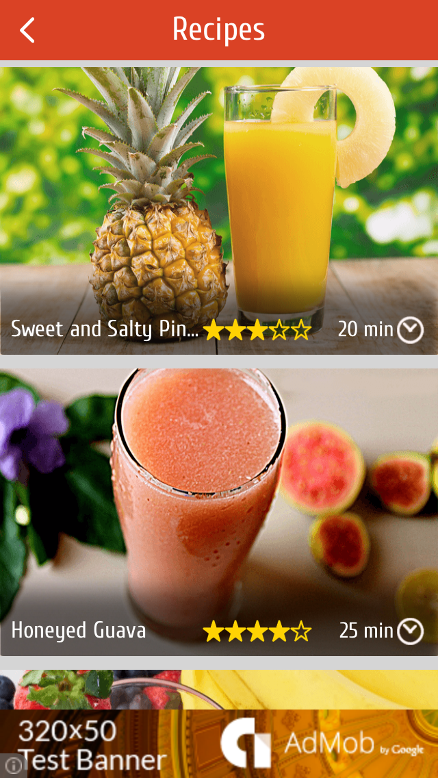 Juice Recipes For Healthy Life screenshot two