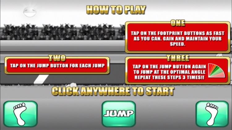 Triple Jump Champ - Athletics Summer Sports