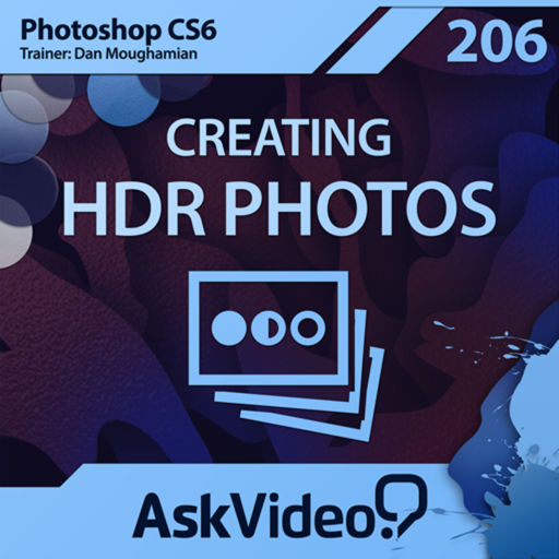 AV for Photoshop CS6 206 - Creating HDR Photos