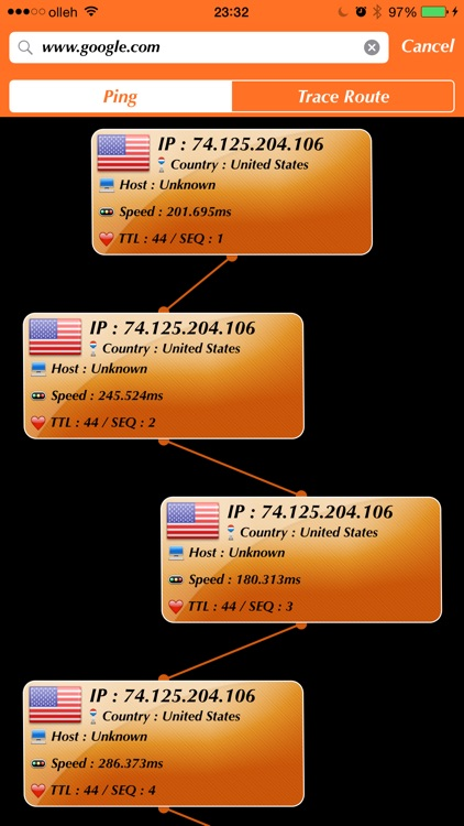 Net Checker - Ping/Trace Route