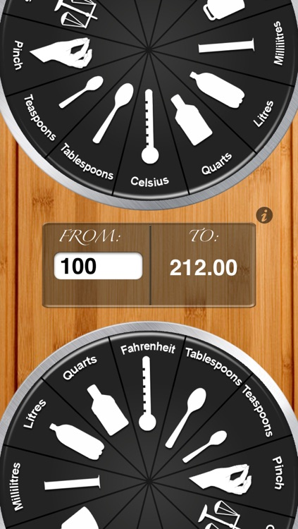 Kitchen Dial - Handy Conversions Units
