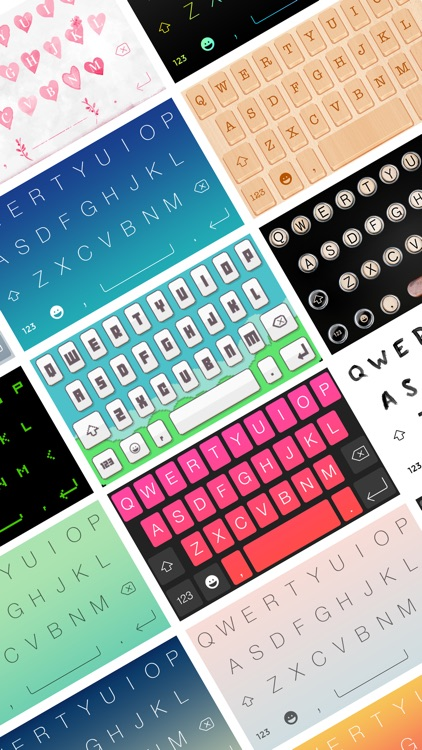 Keyboard Themes with custom fonts and emojis screenshot-3