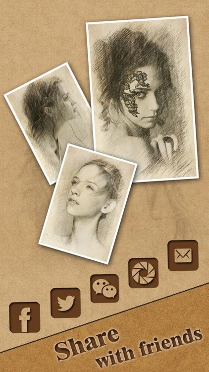 Cartoon Sketch HD - Filter Booth to add Pencil Portrait Effect & Splash Color on Camera Photo screenshot-4
