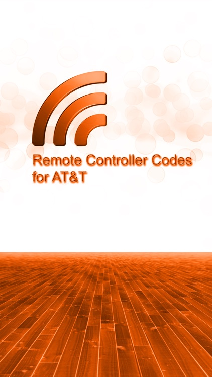 Remote Controller Codes for AT&T