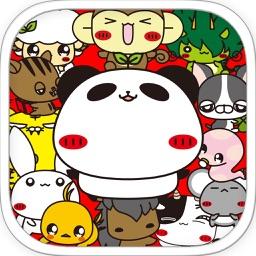Funtan card of Panda