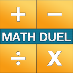 Ícone do app Math Duel - Two Player Split Screen Mathematical Game for Kids and Adults Training - Addition, Subtraction, Multiplication and Division!