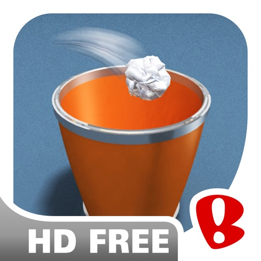 Paper Toss HD Free icon
