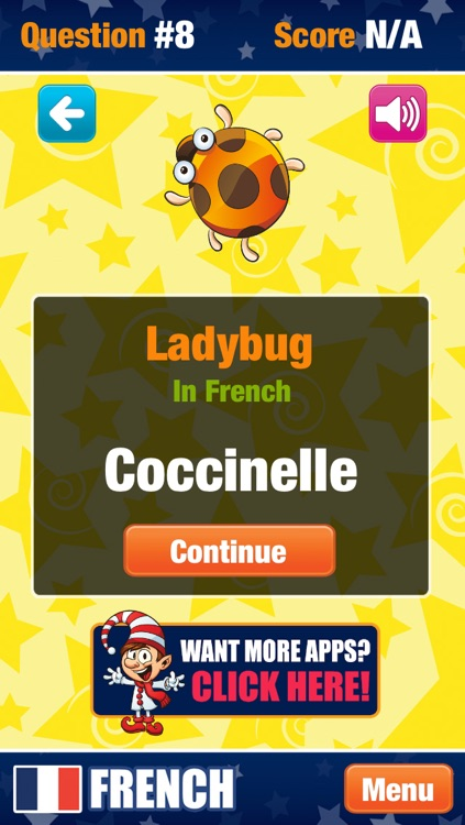French for Kids and Beginners - Educational app with Flashcards and Words screenshot-3