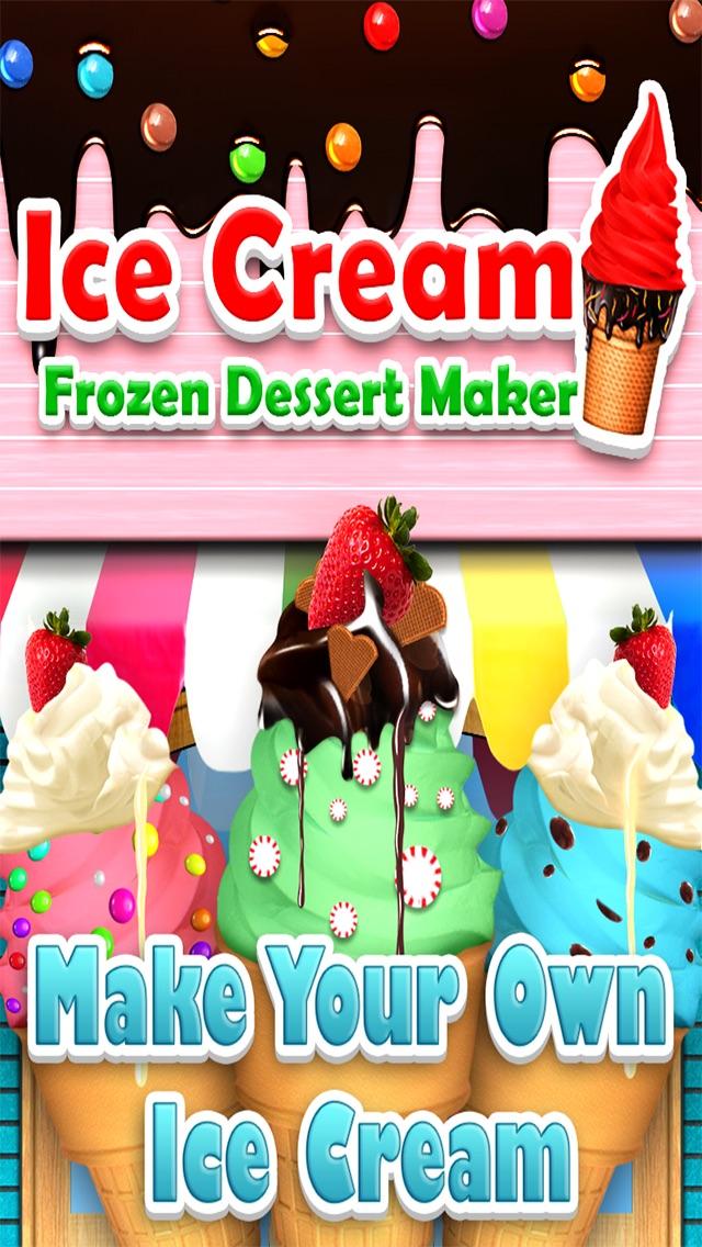 `Awesome Ice Cream Maker - Frozen Food Dessert  Free Screenshot