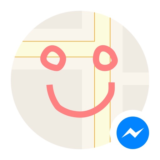 Draw on Maps for Messenger iOS App