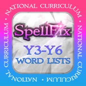 SpellFix Y3-Y6 Word Lists