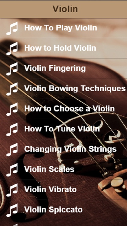 Violin Lessons - Learn How To Play Violin