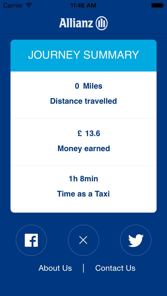 Allianz Taxi Meter screenshot three