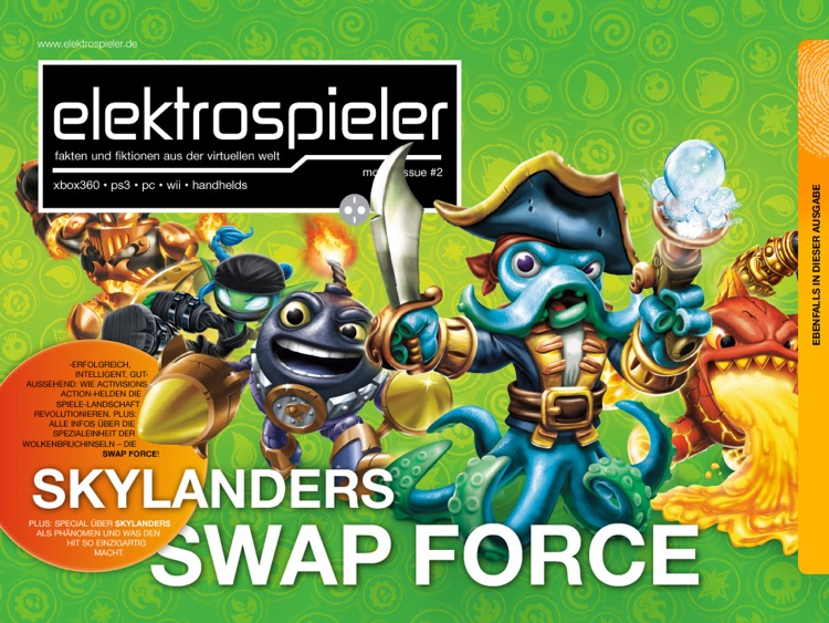"elektrospieler ""Skylanders Swap Force""-Edition screenshot-0"