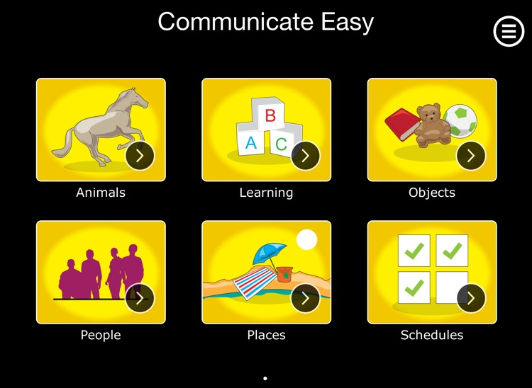 Communicate Easy - Autism App for iPad for Special Needs Communication