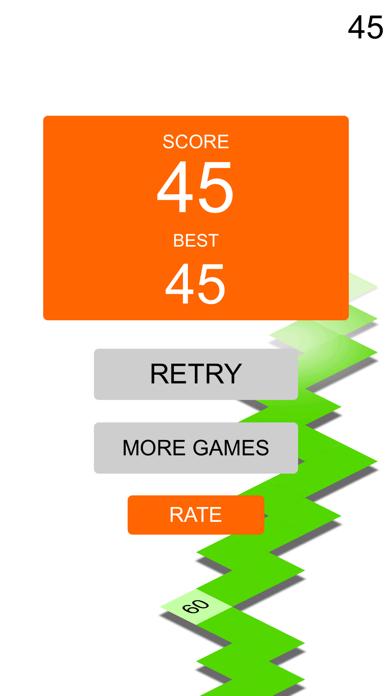 ZZ Reverse sprinter club arcade rock game for iPhone 5