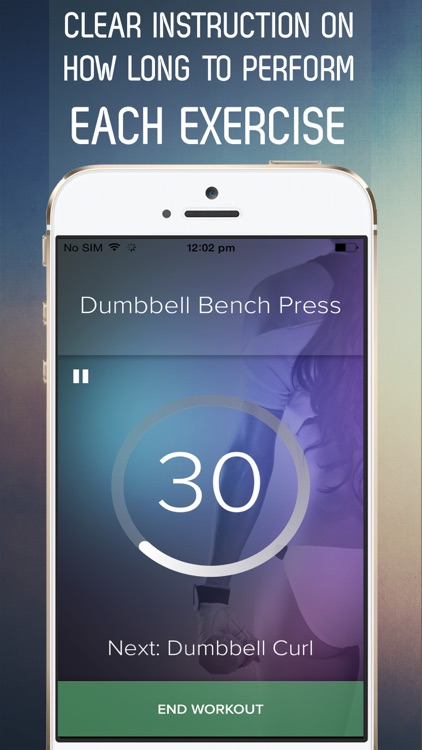 7 Minute Dumbbell Dedication Workout for an Hourglass Figure screenshot-3