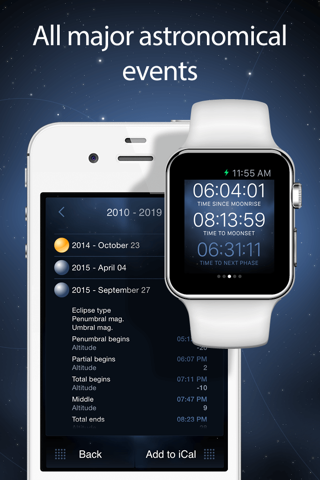 Deluxe Moon Pro - Moon Phases Calendar screenshot 4