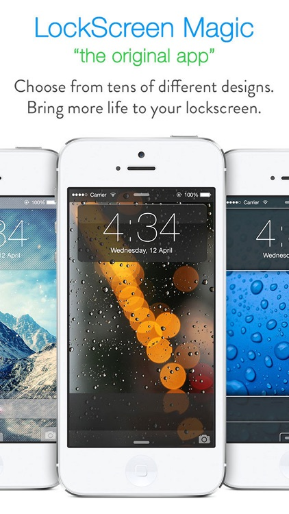 LockScreen Magic for iOS8 : Custom Themes, Backgrounds and Wallpapers for Lock Screen screenshot-1