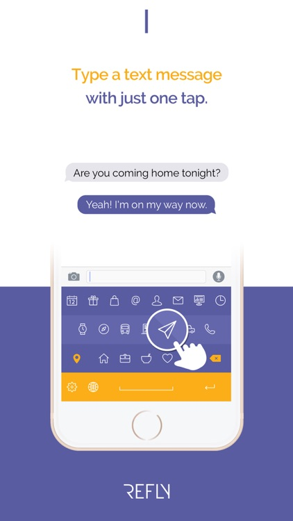 Refly Keyboard - Quick Text Message