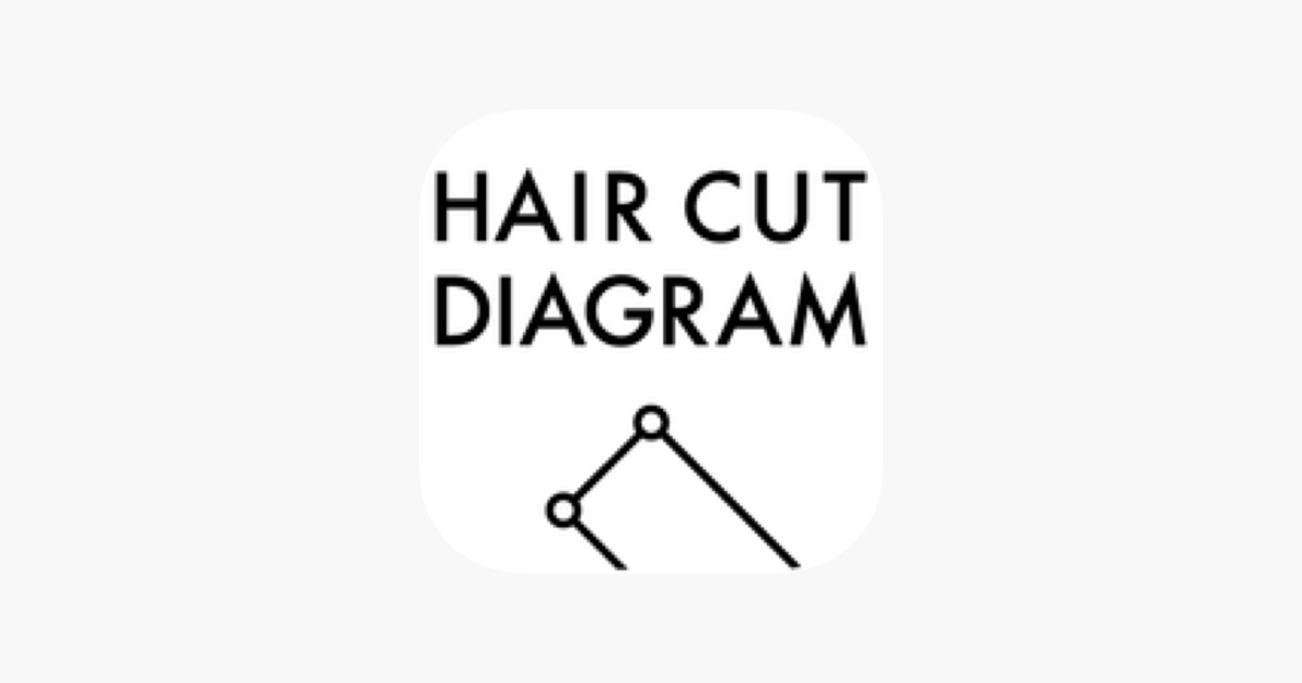 hair cut diagram u300d u3092app store u3067