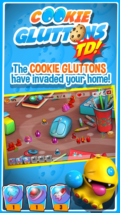 Cookie Gluttons TD screenshot-0