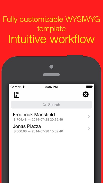 Invoice Maker Core • Mobile PDF invoicing screenshot-3