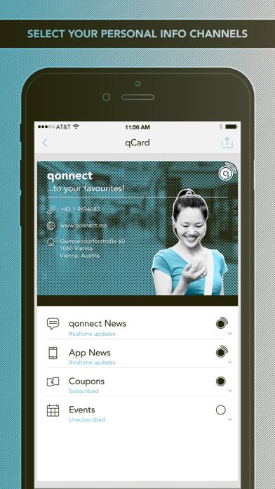 qonnect screenshot two