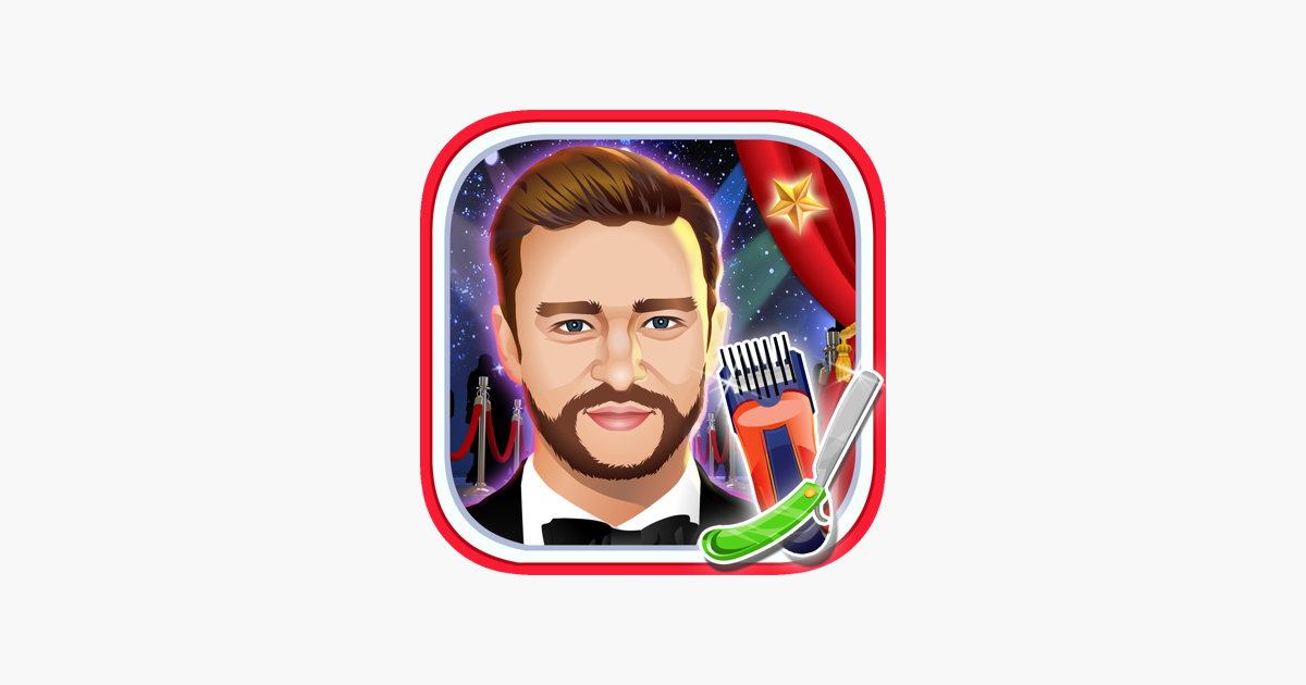 ‎Celebrity Beard Shave Salon - Girls Games on the App Store