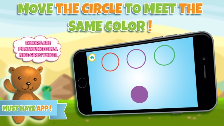 Learn colors - Educational game for toddler kids & preschool children screenshot-3