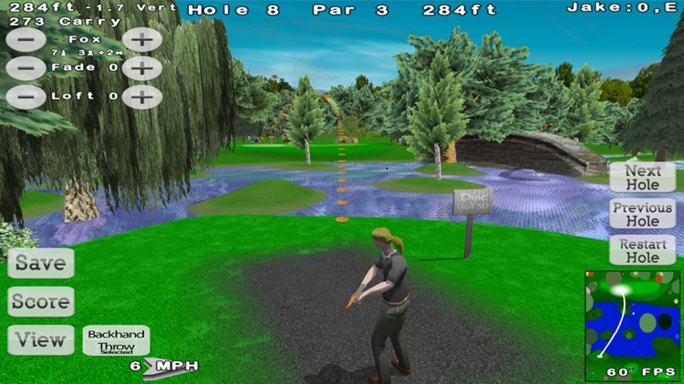 Disc Golf 3D screenshot-0