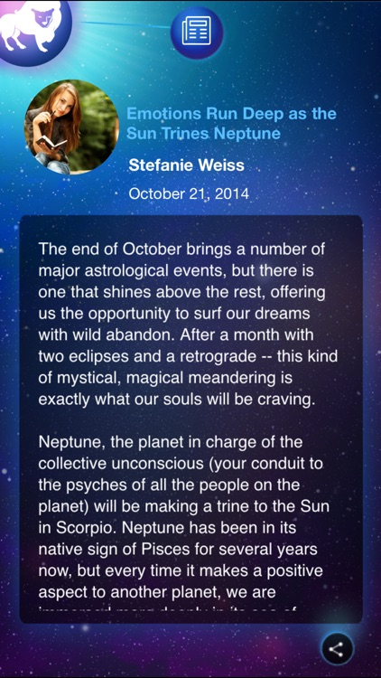 Horoscopes by Astrology.com - Daily Horoscopes, Compatibility Readings and More! screenshot-3