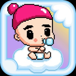 Angel Baby - Adventure of bird tiny flappy wings for free kid games