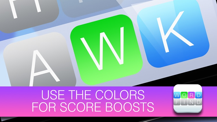 Word Find FREE - Use the colors and beat the clock