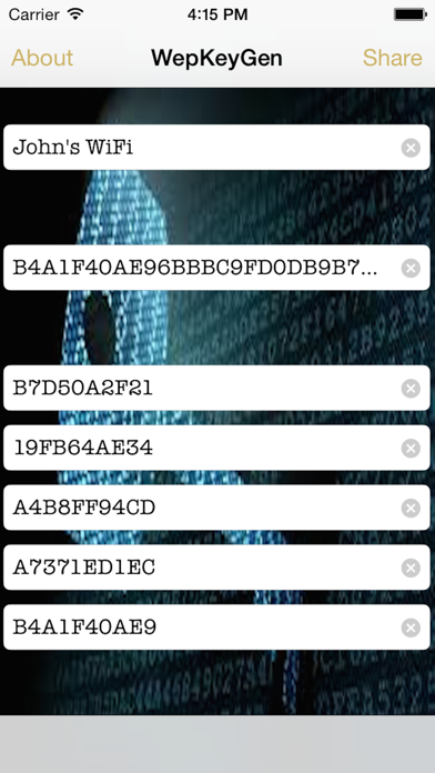 Screenshot of WepPro- WiFi Passwords for iOS 82