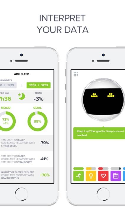 Optimized - Lifelogging and Quantified Self Improvement App screenshot-3