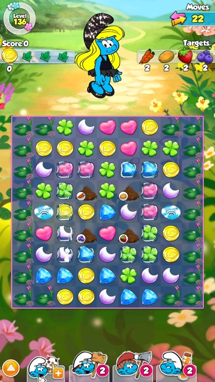 Smurfette's Magic Match screenshot-3