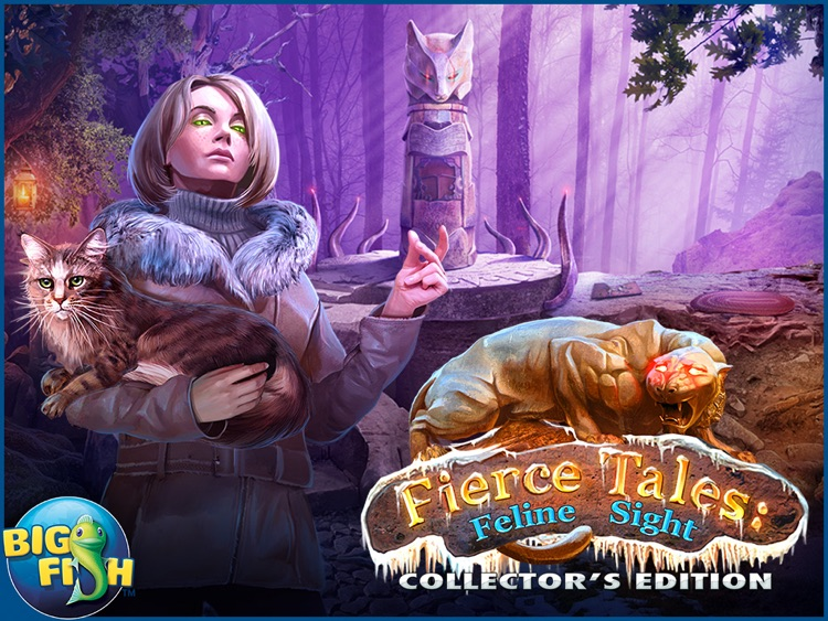 Fierce Tales: Feline Sight HD - A Hidden Objects Mystery Game screenshot-4