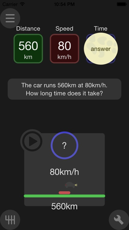FindSpeed distance-time-speed with animation screenshot-3